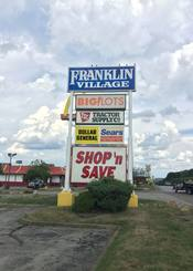 Franklin Village Shopping Center: